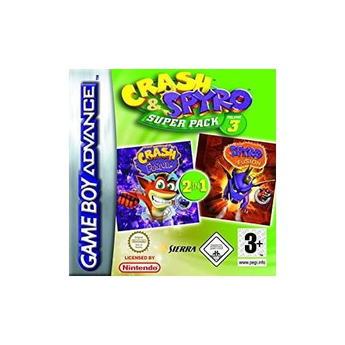 Crash & Spyro Superpack Vol 3 (Apenas Cartucho) GBA