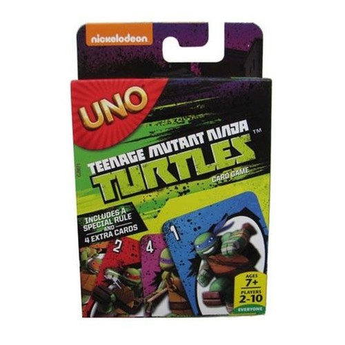 Jogo Cartas Uno Teenage Mutant Ninja Turtles