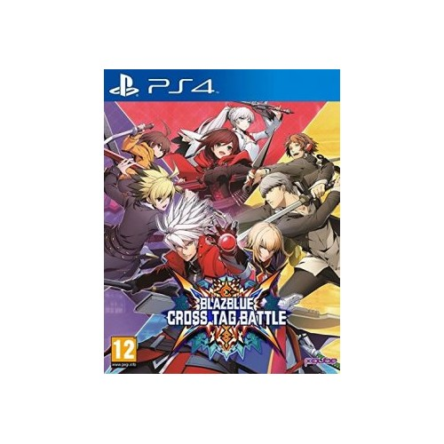 Blazblue Cross Tag Battle (Disponível 22/06/2018) PS4