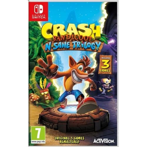 Crash Bandicoot N. Sane Trilogy (Disponível 29/07/2018) Nintendo Switch