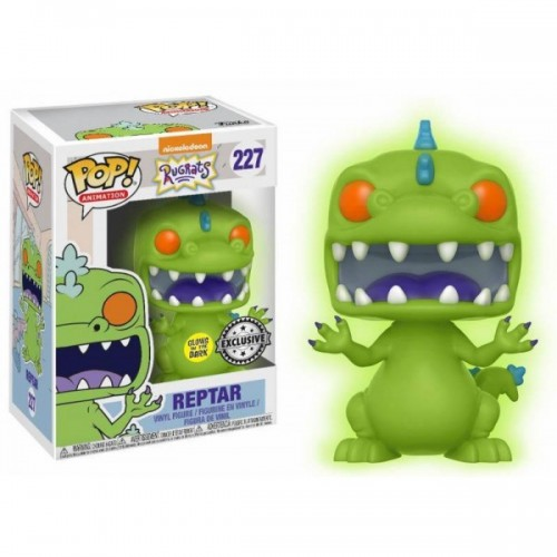 Figura Funko Pop Rugrats Reptar 227 Exclusive