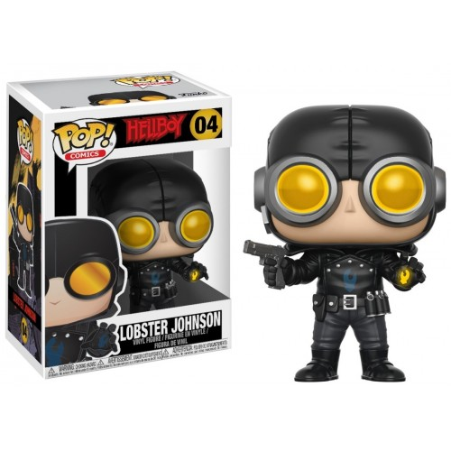 Figura Funko Pop Hellboy Lobster Johnson 04