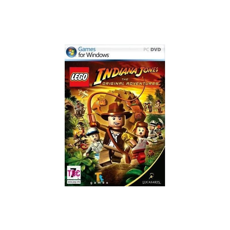 Lego Indiana Jones The Original Adventures USADO PC