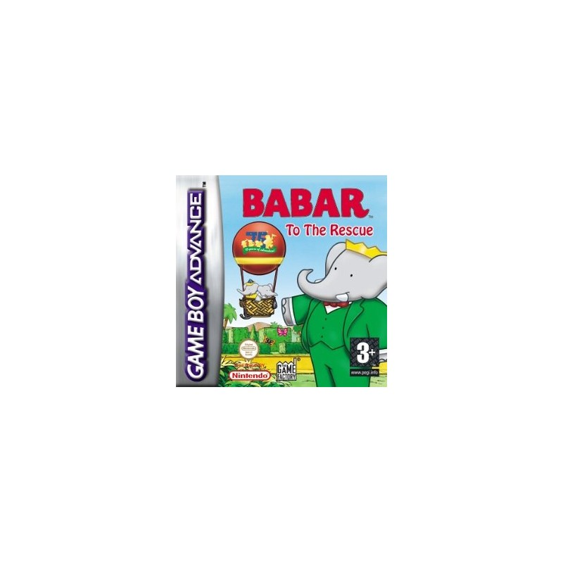 Babar To The Rescue (Apenas Cartucho) GBA
