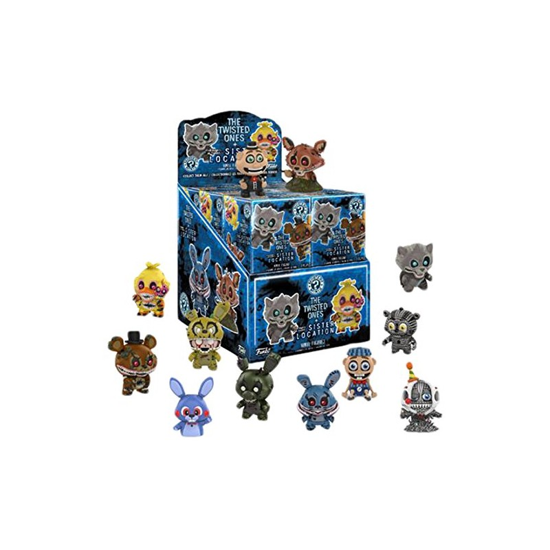 Figura Funko Misterio Mini Five Nights At Freddy's Twisted Ones
