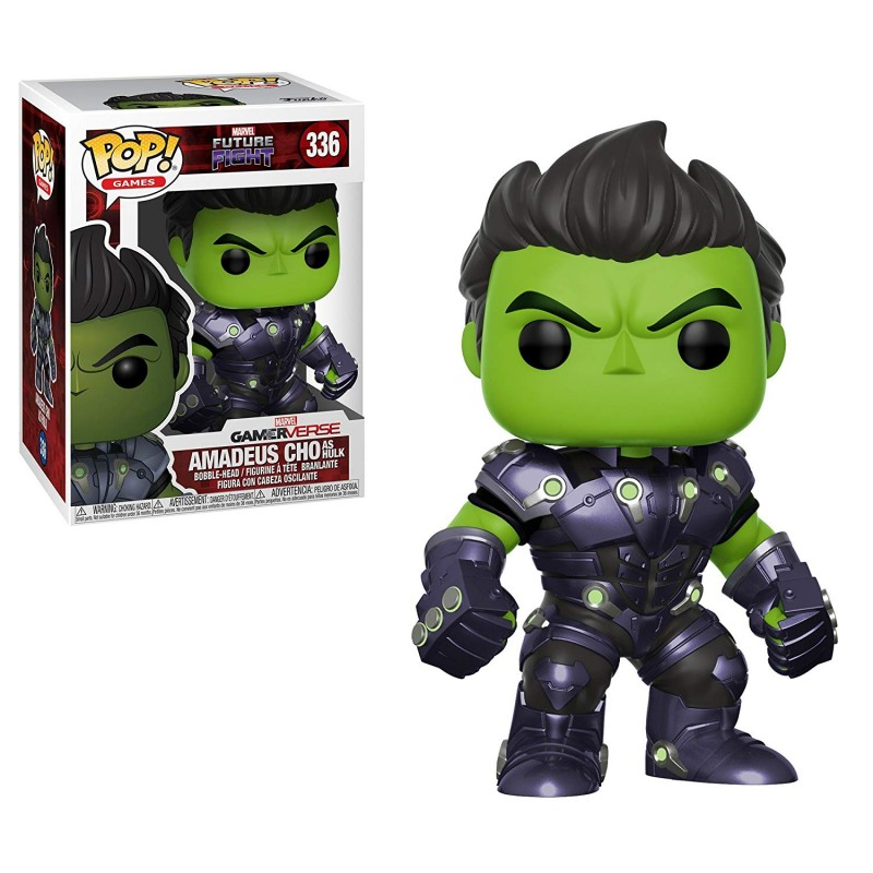 Figura Funko Pop Marvel Future Fight Amadeus Cho 336