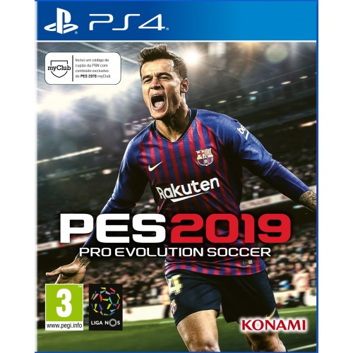 PES Pro Evolution Soccer 2019 PS4