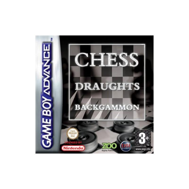 Backgamoon & Chess & Draughts (Apenas Cartucho) GBA