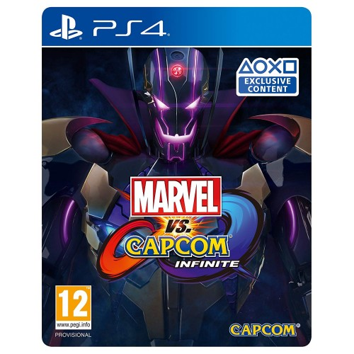 Marvel vs Capcom Infinite Deluxe Edition (Steelbook) PS4