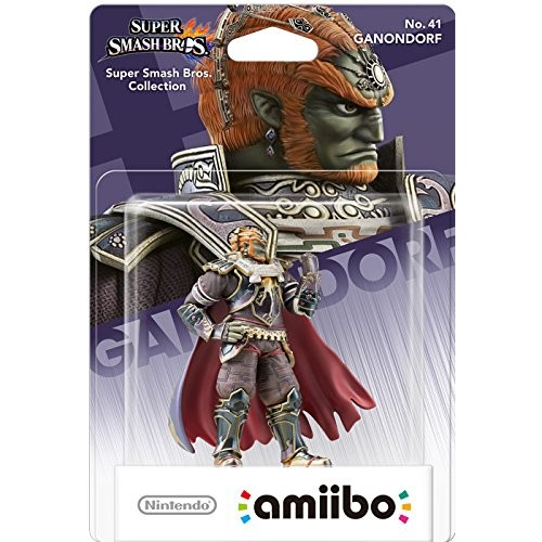 Amiibo Super Smash Bros Ganondorf 41