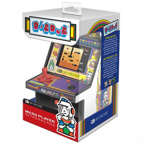 Consola Retro Arcade Micro Player Dig Dug