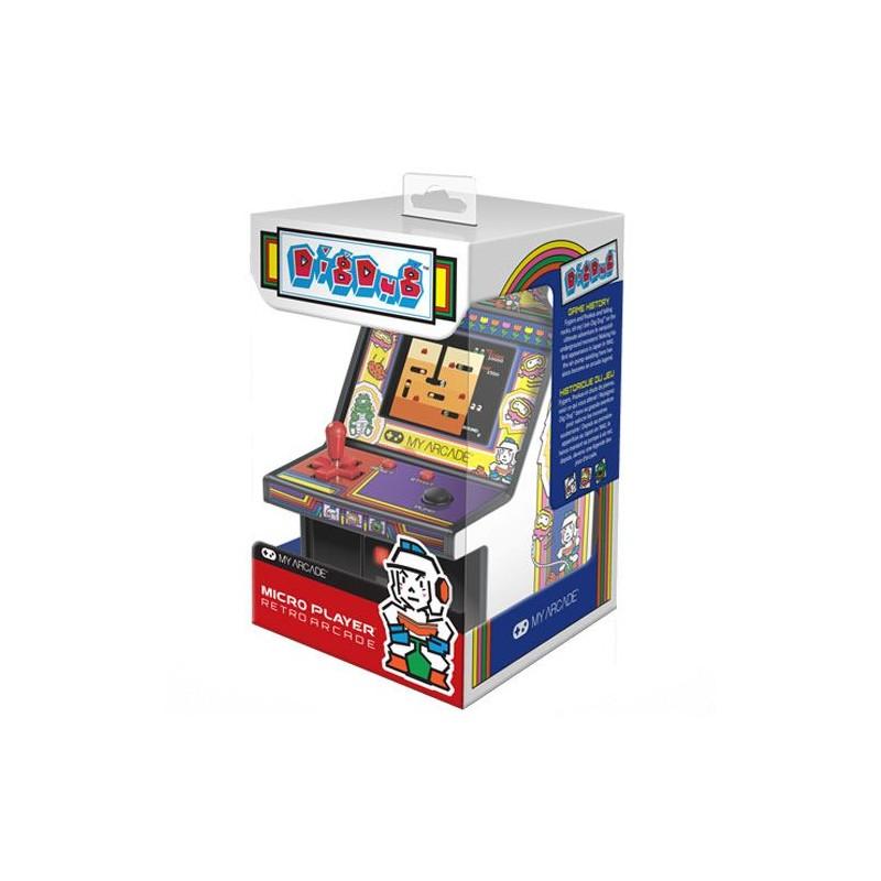 Consola Retro Arcade Micro Player Dig Dug