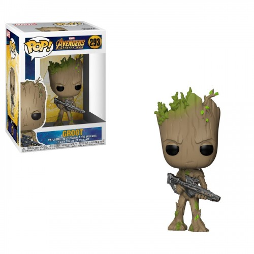 Figura Funko Pop Marvel Avengers Infinity War Groot 293