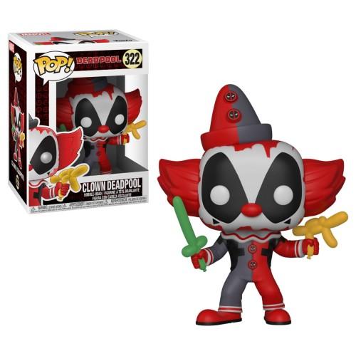 Figura Funko Pop Deadpool Clown Deadpool 322