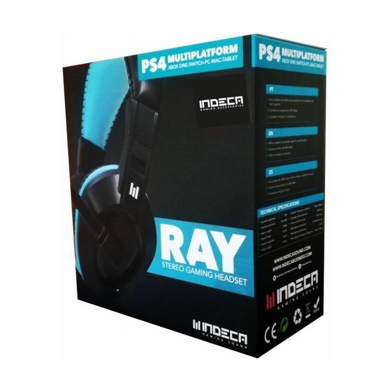 Headset Indeca Ray Multiplataforma