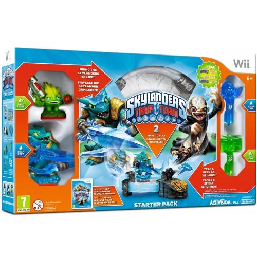 Skylanders Trap Team Starter Pack Nintendo Wii