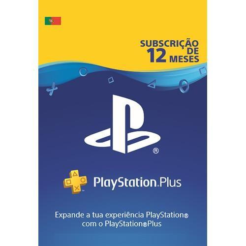PlayStation Plus Subscrição 12 Meses