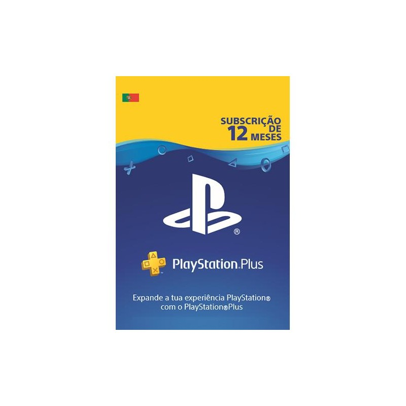 PlayStation Plus Subscrição 12 Meses