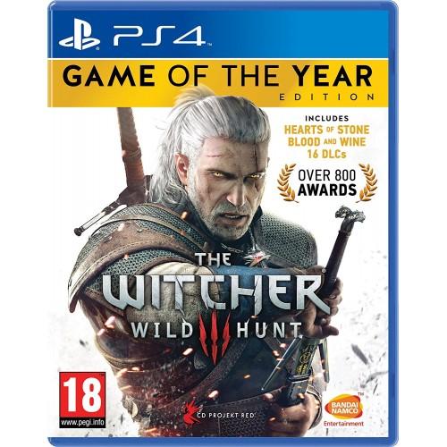 The Witcher 3 Wild Hunt Goty PS4