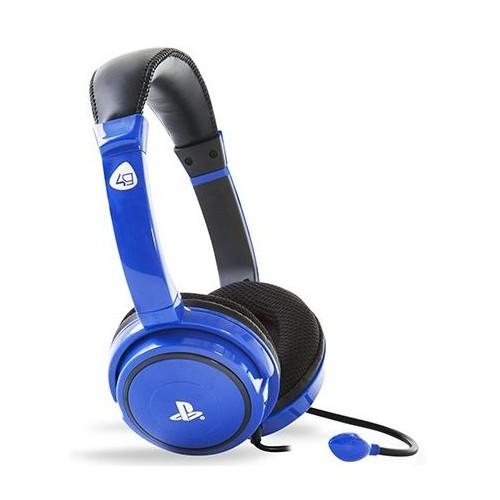 Headset com fios 4Gamers PRO 4 40 AZUL PS4