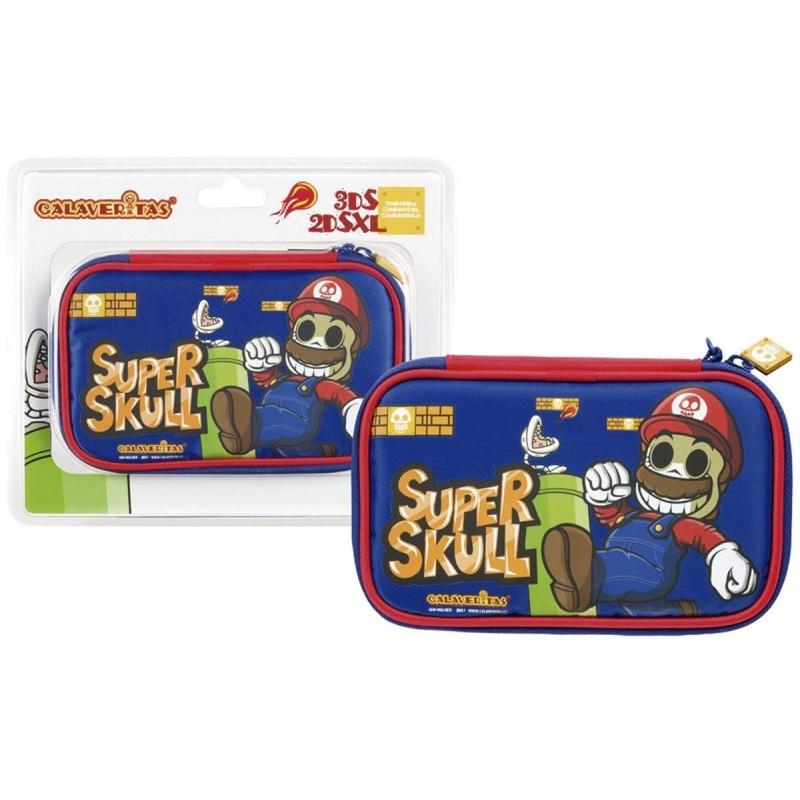 Bolsa Calaveritas Super Mario Nintendo 3DS / 3DSXL / 2DSXL