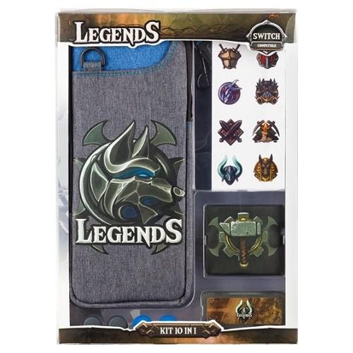 Starter Pack Legends INDECA (10 em 1) Nintendo Switch