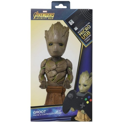 Carregador / Suporte Cable Guy Marvel Avengers Groot