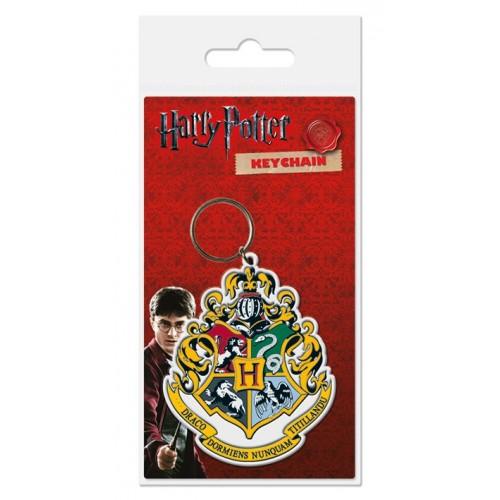 Porta Chaves Harry Potter Hogwarts (Borracha)