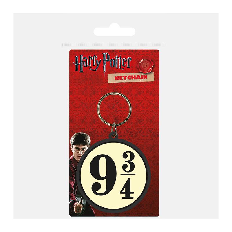 Porta Chaves Harry Potter 9 3/4 (Borracha)