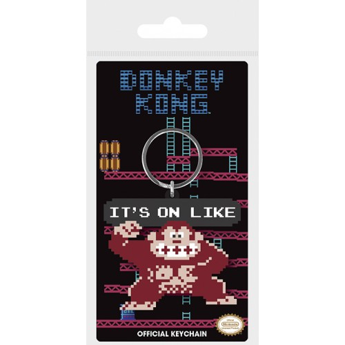 Porta Chaves Donkey Kong It's On Like (Borracha)