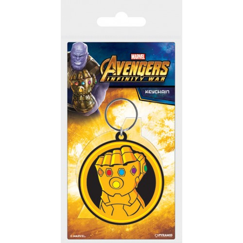 Porta Chaves Marvel Avengers Infinity War Thanos (Borracha)