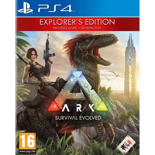 ARK Survival Evolved Explorers Edition PS4