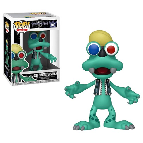 Figura Funko POP Kingdom Hearts III Goofy (Monster's Inc.) 409