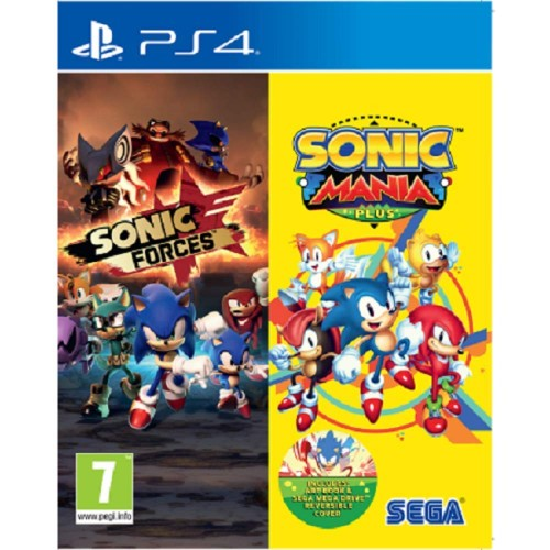 Sonic Forces & Sonic Mania Plus Double Pack PS4